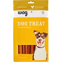 Amazon Brand – Wag Dog Treat, Chicken and Carrot, 200 gram, 20 pieces