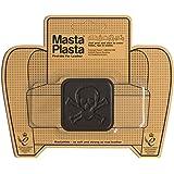 MastaPlasta - Parches AUTOADHESIVOS para reparación de Cuero y Otros Tejidos. MARRÓN Oscuro. Elije el tamaño y el diseño. Pri