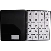 Nawkaar9 Coin Album Book with Coin Holders (200 Coins) for Coin Collection