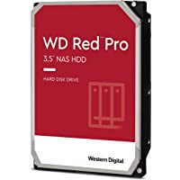 "WD Rot Pro 8TB 3.5"" NAS Interne Festplatte - 7200 RPM - WD8003FFBX"