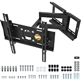 "RICOO R23-S Support Murale TV Orientable Inclinable Universel 31-65"" (79-165cm) Fixation Mural Télévision LED/LCD…"