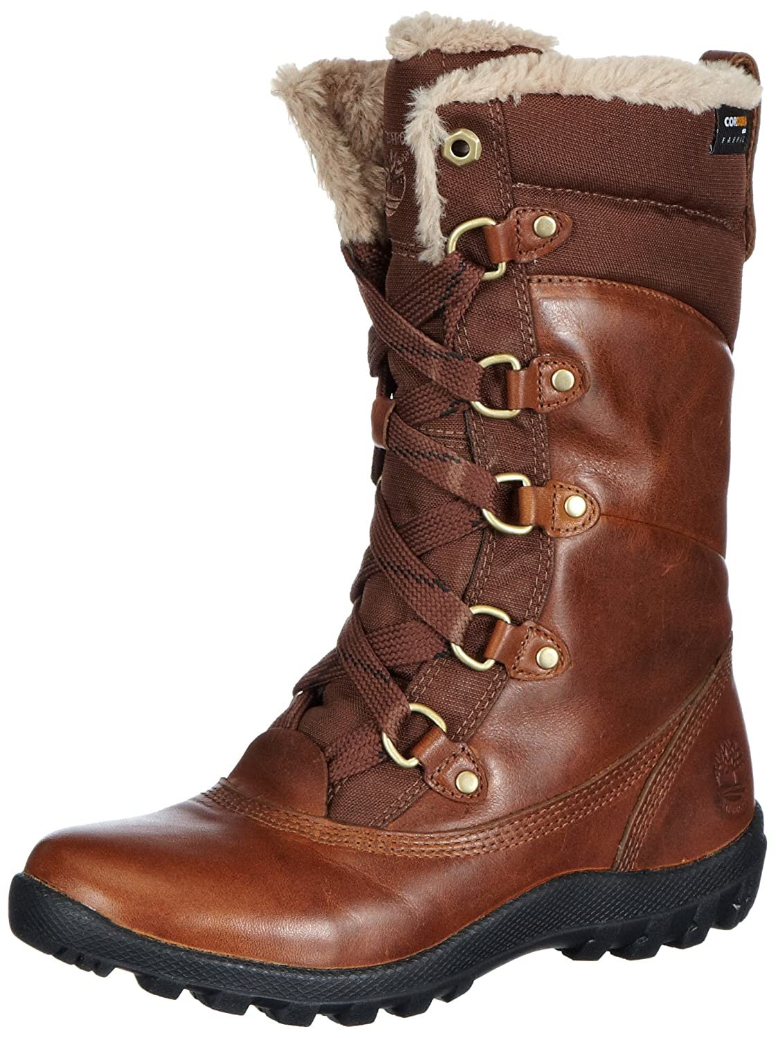 Timberland Ek Mount Hope Leather and Fabric Waterproof, Bottes de neige femme Amazon.fr Chaussures et Sacs