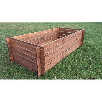 Stabiler Holzkomposter Komposter Kompostbehalter Impragniert