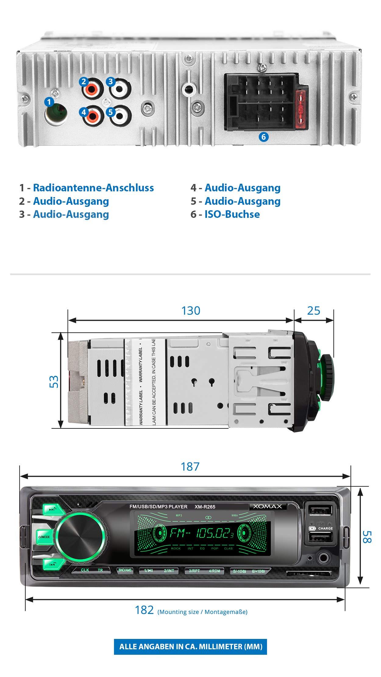 XOMAX-Autoradio-1-DIN
