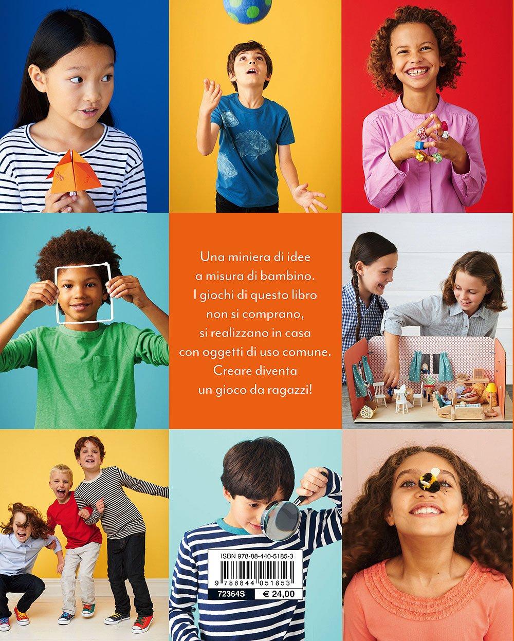 81g3vVJnlTL - Art & craft per i tuoi bambini. 175 idee da creare, disegnare e costruire