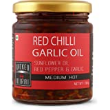 Chilli - Garlic Oil - All Natural, Preservative Free and Gluten Free - 180 g - WICKED GOURMET KITCHEN by MIRAI