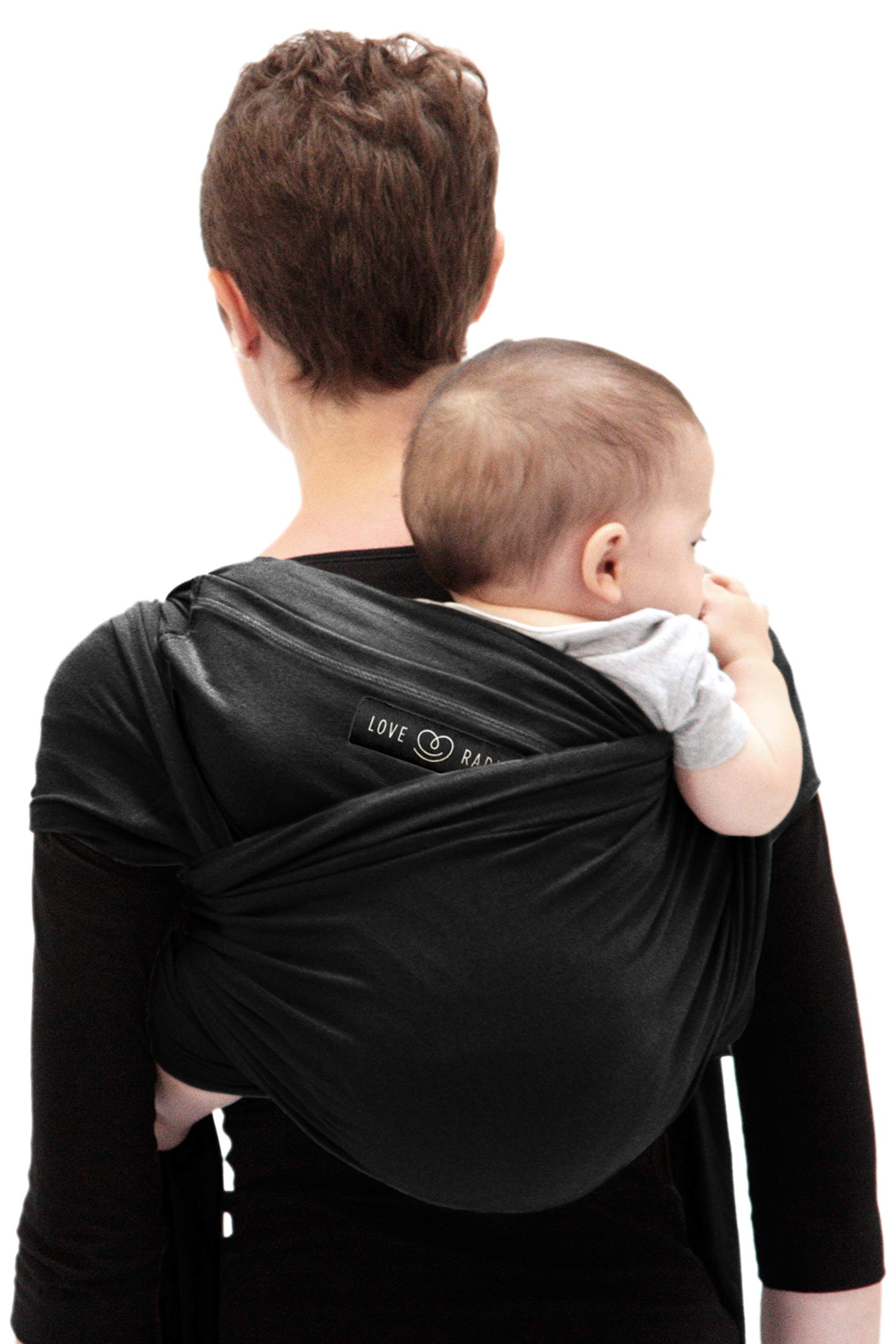 Je Porte Mon Bébé L'Originale Baby Sling Je Porte Mon Bébé High Quality Elastic Baby Carrier Dense, elastic and breathable material Great support, fits your baby's body like a second skin. 4
