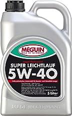 Meguin 4809 Megol Motorenöl Super Leichtlauf SAE 5W-40 (Vollsynthetisch), 5 Liter