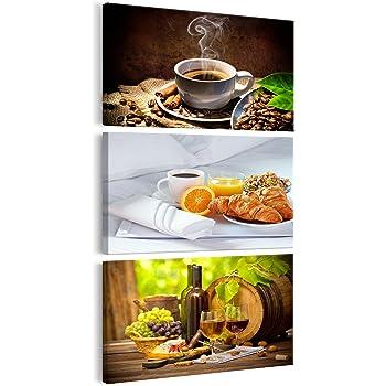 Decomonkey   Bilder Kaffee Küche 100x45 Cm   1 Teilig   Leinwandbilder    Bild Auf Leinwand ...