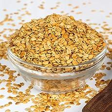 NatureVit Roasted Dhana Dal - 900 Grams   Roasted Dhania Seeds   (Roasted Split Coriander Seeds)