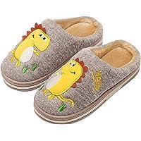INMINPIN Inverno Pantofole da Casa Bambini Caldo Peluche Pantofola da Invernali Carino Dinosauro Comode Ciabatte Interne…