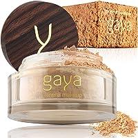 Mineral Foundation Make Up Puder – Vegane Professionelle Natürliche Full Coverage Hochdeckendes Makeup Powder für…