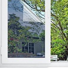 Sichtschutzfolie Hitzeschutz Sonnenschutzfolie Selbstklebende Spiegelfolie Fensterfolie Tönungsfolie Sichtschutz Wärmeisolierung UV-Schutz Silber