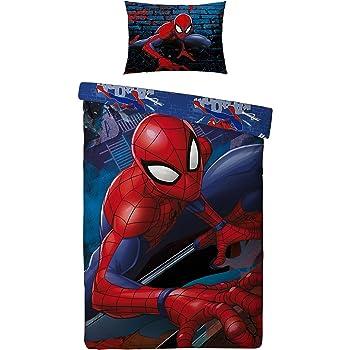 Parure de lit Enfant Spiderman   Housse de couette réversible +