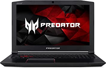 """ACER Predator Helios 300 Gaming Laptop Intel Quad Core I7 Processor 6GB Graphics, 15.6"""" Full HD, Red Backlit Keyboard, Metal Chassis"""