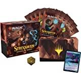 Magic: The Gathering Strixhaven Bundel, 10 Draft Boosters (150 Magic Cards) & Accessoires, Multi Colour