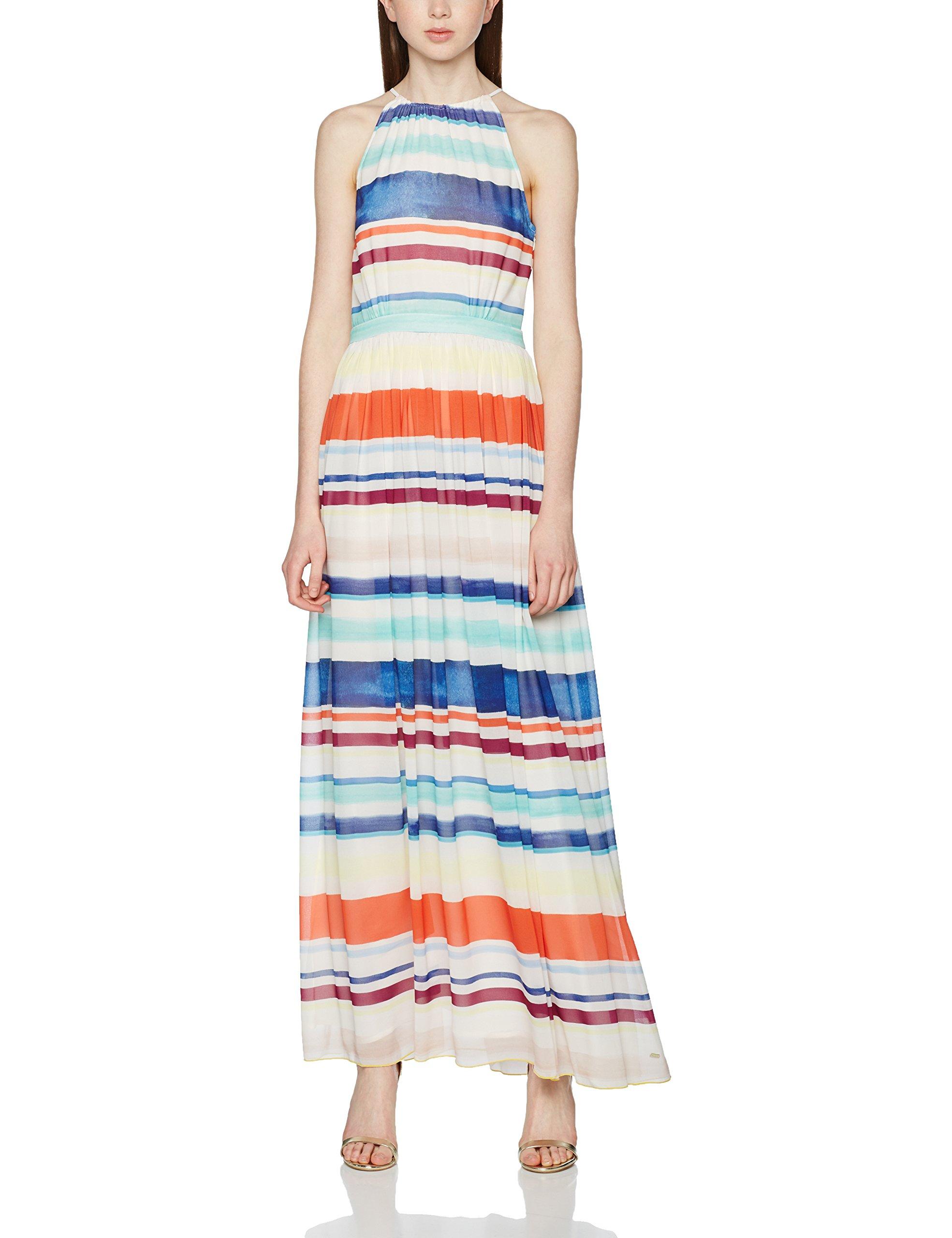 Tommy Hilfiger Agatha Chiffon Maxi Dress Vestido para Mujer
