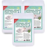 VYTALIVING Bioskin Doctor Hemp Patches - (3 Pack, 60 Patches) - Hemp Oil CBD Pain Relief Patch - Fast Acting, Arthritis…