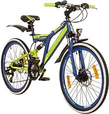 24 Zoll MTB Fully Galano Adrenalin DS Mountainbike STVZO Jugendfahrrad