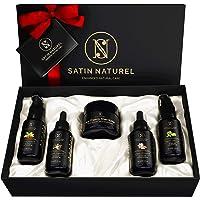 Set Cura del Corpo Naturale BIO 5x30 ml - Burro di Karité, Olio di Argan, Olio di Jojoba, Olio di Mandorle, Olio di…