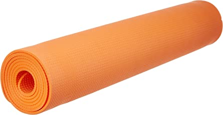 Funjoy Yoga Mat, Orange (5mm)