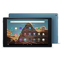 Fire HD 10-Tablet│10,1 Zoll großes Full HD-Display (1080p), 32 GB, Dunkelblau, Mit Werbung