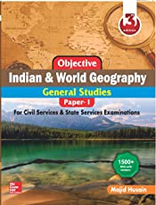 Objective Indian and World Geography for Civil Services/State Civil Services Preliminary Examination (General Studies: Paper - I)