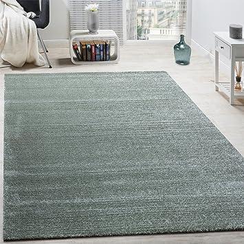 Teppich mint  Designer Teppich Frieze Teppiche Luxuriös Schimmer Glanzeffekt ...