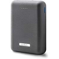 URBN 10000 mAh Li-Polymer Ultra Compact Power Bank with 12W Fast Charge (Grey)