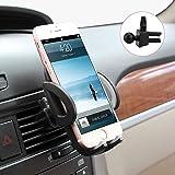 Avolare® Handyhalterung Halter Auto Lüftung Lüftungsschlitz Belüftung Universale Autohalterung Phone Halter [Einzigartiges Design, Hohe Qualität] für Phone, Samsung, Huawei, LG und mehr-Grau