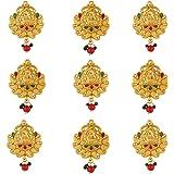 Sanjog Southern Bling Hair Jewelery Choti Jadai Billai Indian Hair pin Hair Decoration,Hair Brooch with Hook Wedding Bridal J