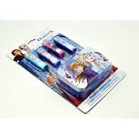 My Party Suppliers Disney Frozen 2 Elsa Theme Flavored Lip Balm Set for Girls