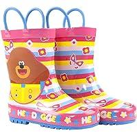 Stivali da neve con manico Wellington per bambini Hey Duggee Girls Wellies