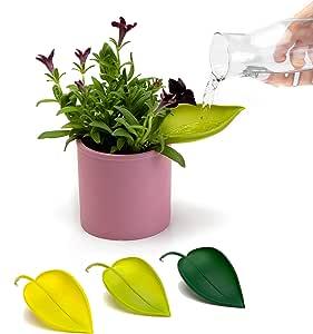 PELEG DESIGN Lot de 3 Pots de Fleurs avec Entonnoir