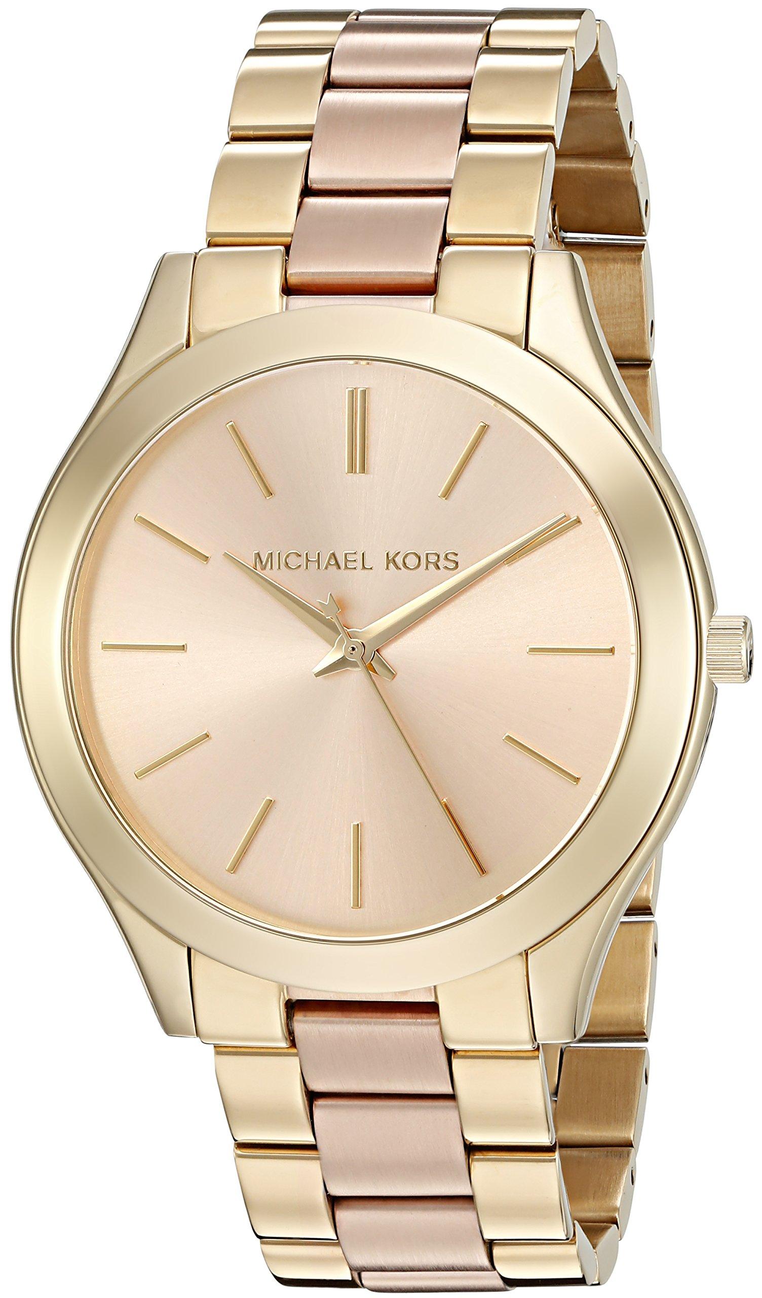 36b841c2c4d0 Michael Kors Reloj analogico para Mujer de Cuarzo con Correa en ...