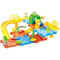 Webby Classic Toy Train Set (Multi-Color, 28 Pieces)