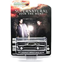 GL Hollywood 1967 Chevrolet Impala Sport Sedan From The Television Show Supernatural Greenlight 1:64