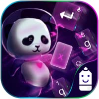 Space Panda Theme&Emoji Keyboard