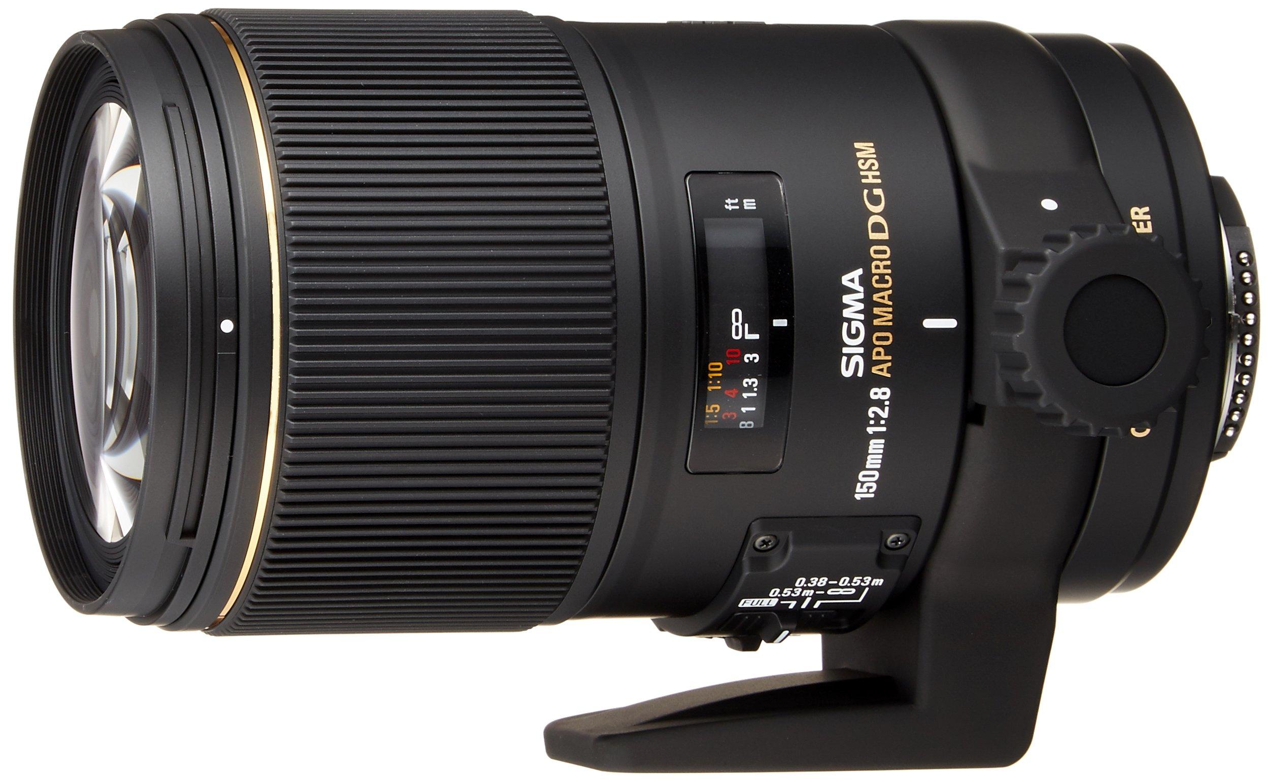 Sigma Obiettivo 150mm-F/2.8-AF EX DG OS HSM APO MACRO, Attacco NIKON