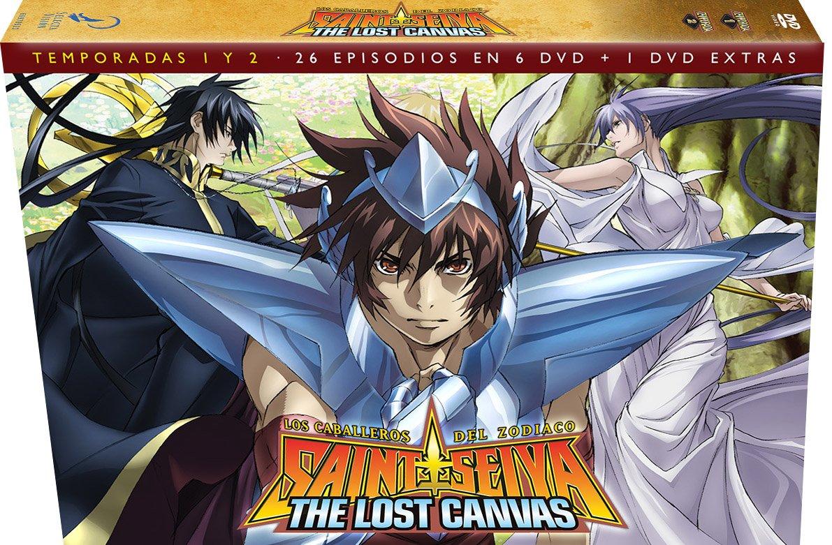 81gJ06frmCL - Los Caballeros Del Zodiaco. Saint Seiya The Lost Canvas Temporada 1+2 [DVD]