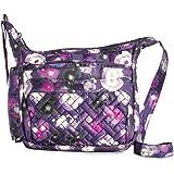 LUG Flutter Crossbody Bag, Water Purple Umhängetasche