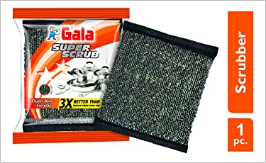 Gala Super Scrub Set (Black, 1 Piece)