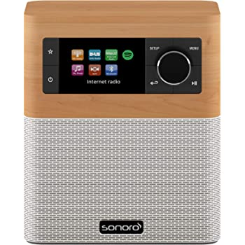sonoro Stream Internetradio Ahorn: Amazon.de: Elektronik