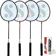 Silver's SIL-SM-Combo-8 Aluminum Badminton Set