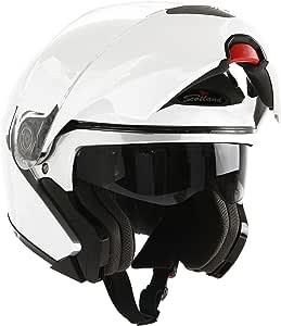 Unbekannt Simpson Helmet Venom 62-XL Gr/ö/ße XL Wei/ß