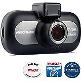 Nextbase 412GW – QHD 1440p Dashcam Überwachungskamera & Auto-Kamera mit GPS, DVR, WDR, WiFi & erweiterter Nachtsicht – KFZ Frontkamera zur Überwachung (Schwarz)