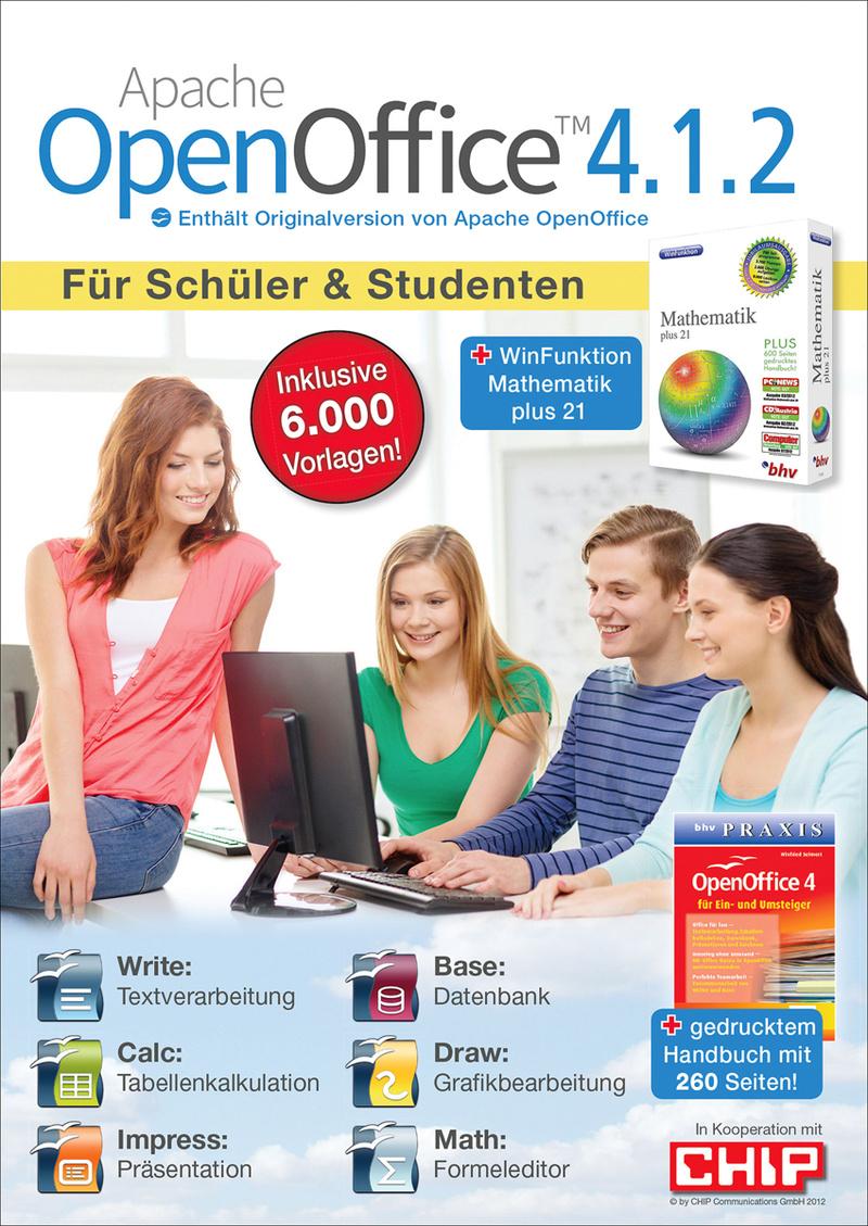 Apache OpenOffice 4.1.2 Schüler und Studenten [Download]