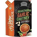 Dabur Hommade Garlic Chutney Pouch-T, 200 Gm