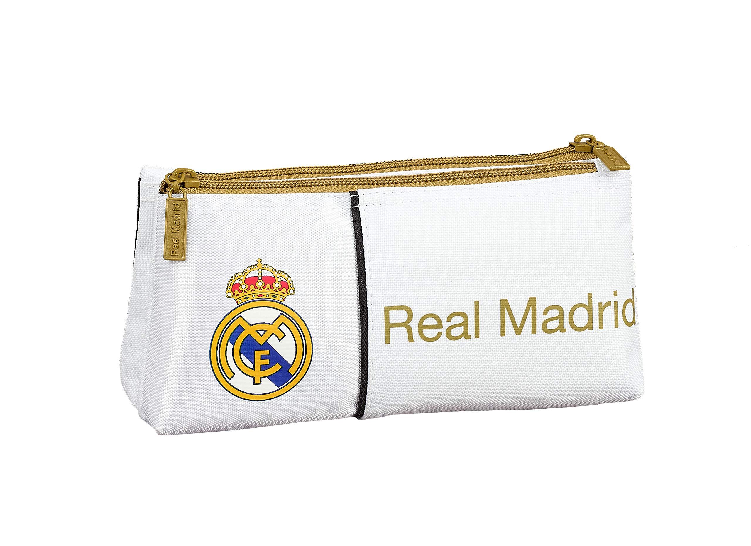 Safta 811954548, Real Madrid 19/20 Neceser Niños Unisex, varios, 22x10x8
