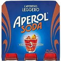 Aperosoda Aperol Soda, 6 x 125ml